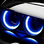 bmw angel eyes anelli